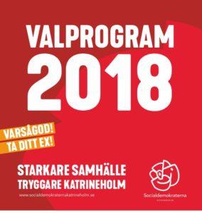 Socialdemokraternas valprogram